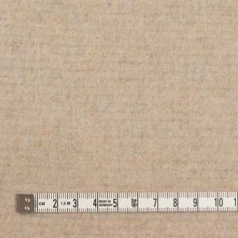 ウール&アクリル混×無地(ダークネイビー&エクリュ)×Wフェイス・フリース サムネイル6