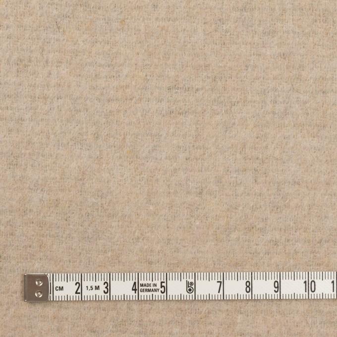 ウール&アクリル混×無地(ダークネイビー&エクリュ)×Wフェイス・フリース イメージ6