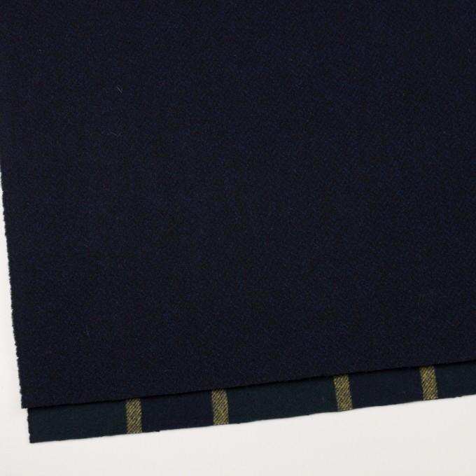 ウール×ミックス&ストライプ(ミッドナイトブルー、ネイビー&モスグリーン、イエロー)×ツイード&フラノ(Wフェイス) イメージ2