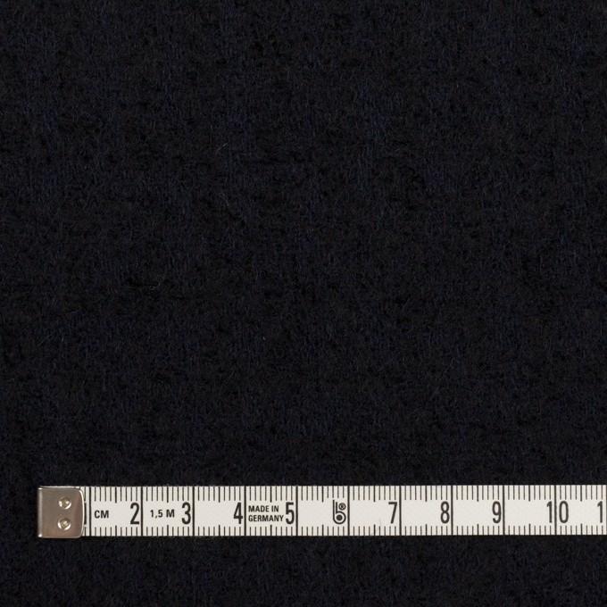ウール×無地(ダークネイビー)×ファンシーツイード イメージ4