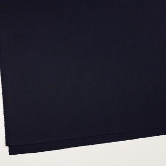 ウール×チェック(プルシアンブルー&ブラック)×サージ サムネイル2