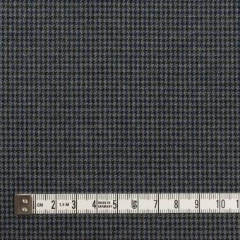 コットン&ポリウレタン×千鳥格子(グレー&ネイビー)×フランネル_全3色_イタリア製 サムネイル4