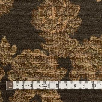 アクリル&ポリエステル混×フラワー(カーキ)×ゴブラン織 サムネイル4