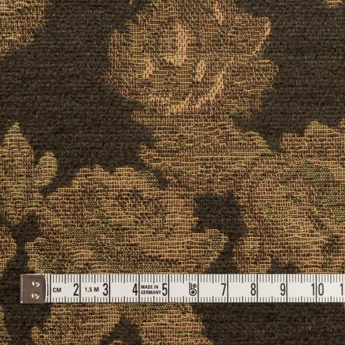 アクリル&ポリエステル混×フラワー(カーキ)×ゴブラン織 イメージ4