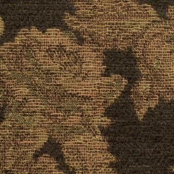 アクリル&ポリエステル混×フラワー(カーキ)×ゴブラン織 サムネイル1
