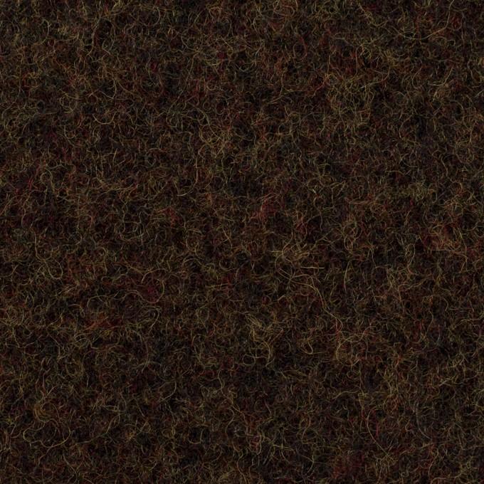 ウール×ミックス(カーキ&ブラウン)×メルトン イメージ1