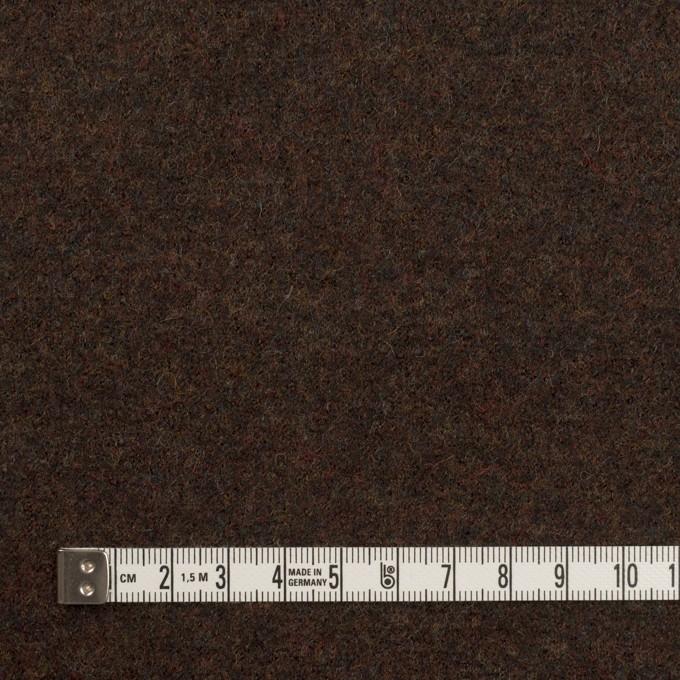 ウール×無地(ブラウニー)×圧縮ニット イメージ4