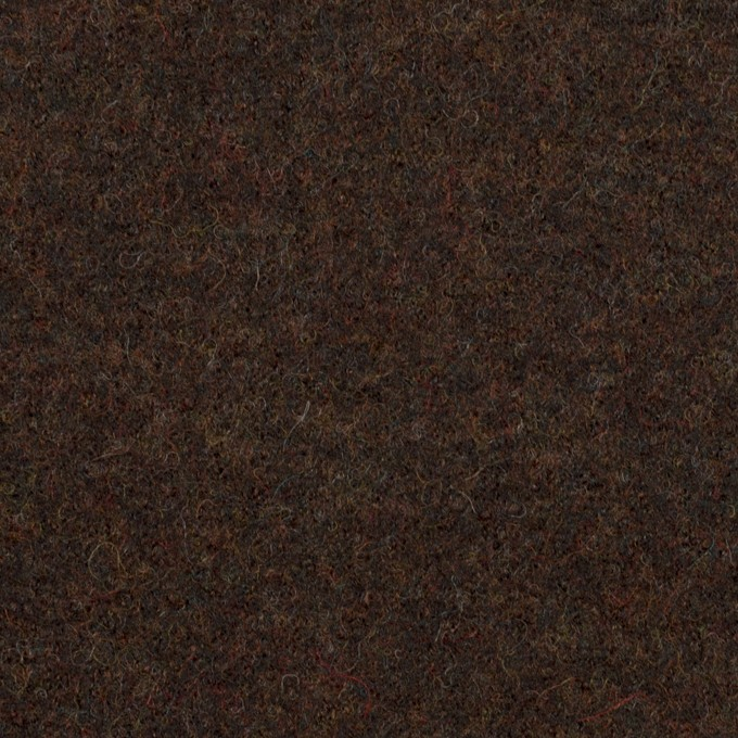 ウール×無地(ブラウニー)×圧縮ニット イメージ1