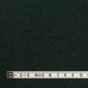ウール&ポリエステル混×無地(モスグリーン)×フリースニット サムネイル4