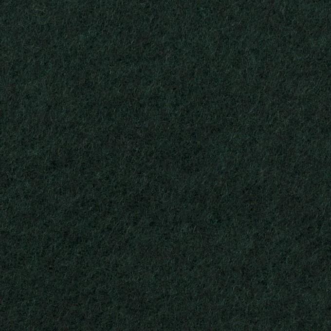 ウール&ポリエステル混×無地(モスグリーン)×フリースニット イメージ1