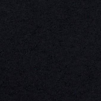 ウール&ナイロン×無地(ダークネイビー)×圧縮ループニット サムネイル1
