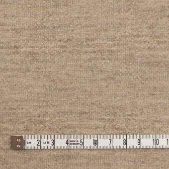 ウール&リネン×無地(グレイッシュベージュ)×二重織 サムネイル4