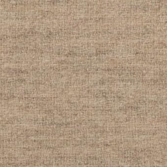 ウール&リネン×無地(グレイッシュベージュ)×二重織 サムネイル1