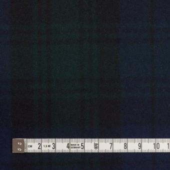 ウール×チェック(ブラックウォッチ)×フラノ(フランネル) サムネイル4