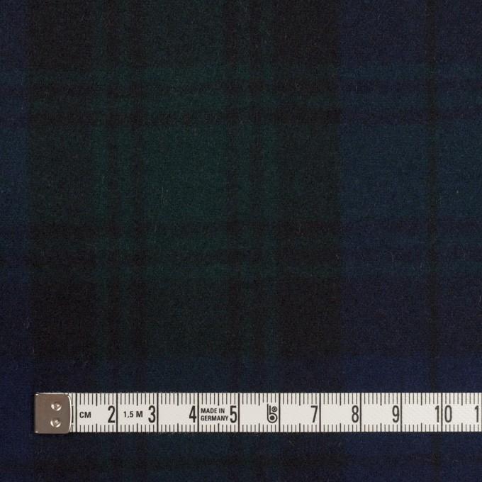 ウール×チェック(ブラックウォッチ)×フラノ(フランネル) イメージ4