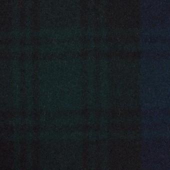 ウール×チェック(ブラックウォッチ)×フラノ(フランネル) サムネイル1