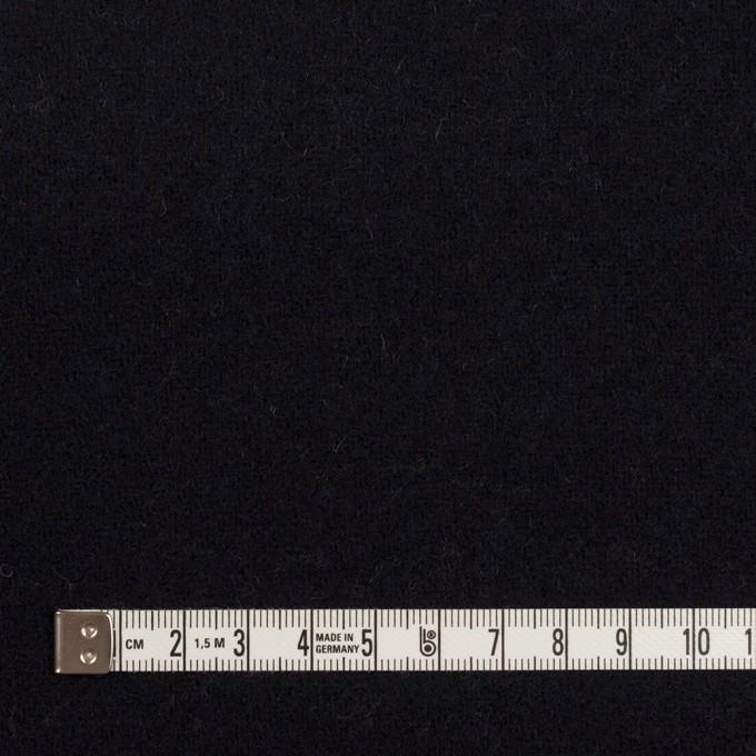 ウール&ナイロン×チェック&無地(チャコールグレー&ブラック)×Wフェイスフラノ イメージ6