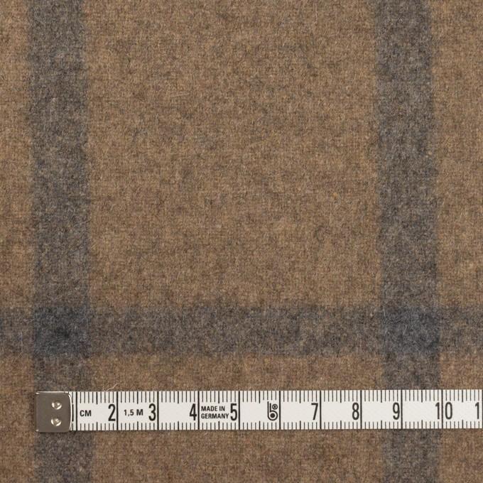 ウール×チェック(オートミール&グレー)×ツイード イメージ4