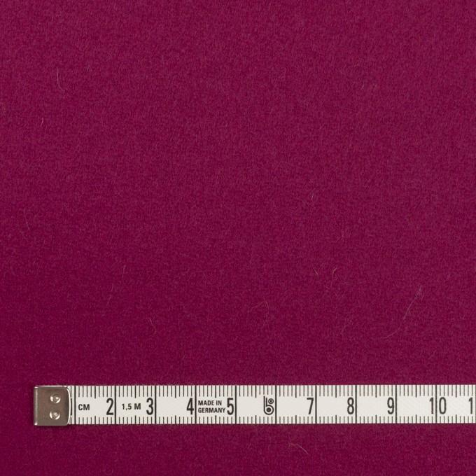 ウール×無地(チェリーピンク)×カルゼ イメージ4
