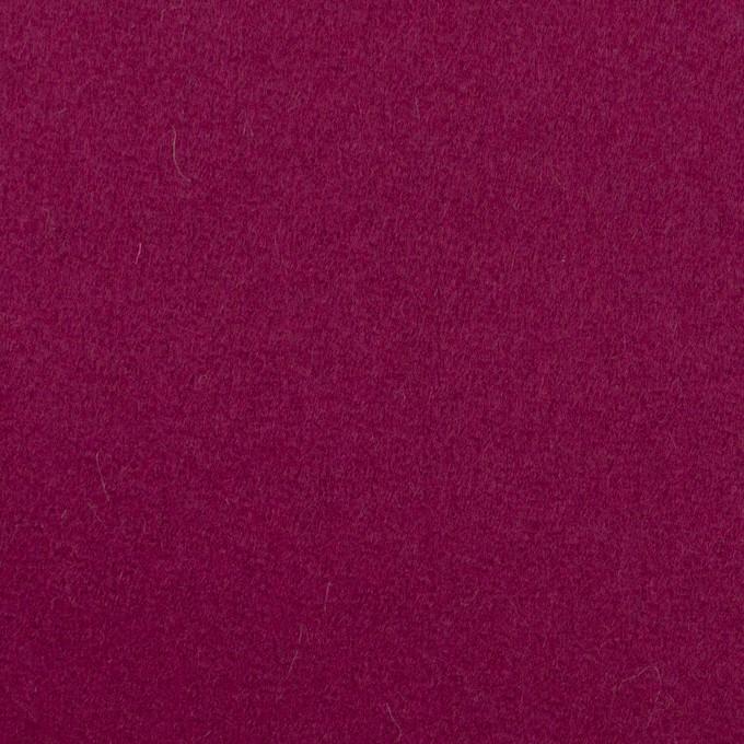 ウール×無地(チェリーピンク)×カルゼ イメージ1