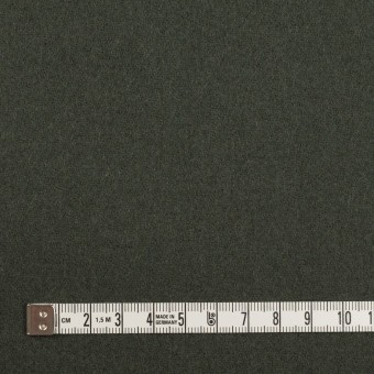 ウール×無地(アッシュカーキグリーン)×カルゼ サムネイル4