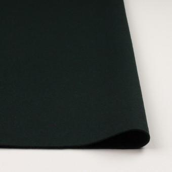 ウール×無地(ディープグリーン)×メルトン サムネイル3