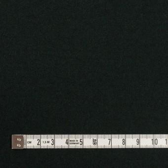 ウール×無地(ディープグリーン)×メルトン サムネイル4