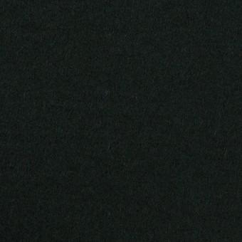 ウール×無地(ディープグリーン)×メルトン サムネイル1