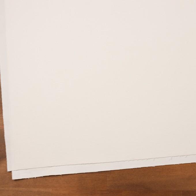 コットン&ポリウレタン×無地(ミルク)×コード織_全5色 イメージ2