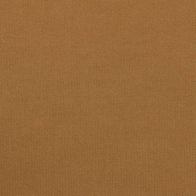 コットン&ポリウレタン×無地(キャメル)×コード織_全5色 イメージ1