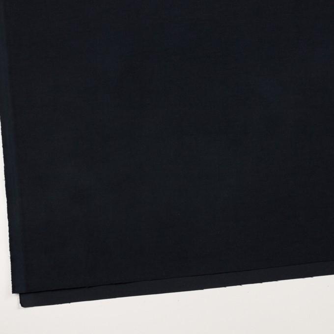 コットン&ポリウレタン×無地(ダークネイビー)×コード織_全5色 イメージ2