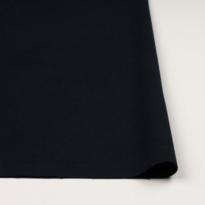 コットン&ポリウレタン×無地(ダークネイビー)×コード織_全5色 イメージ3