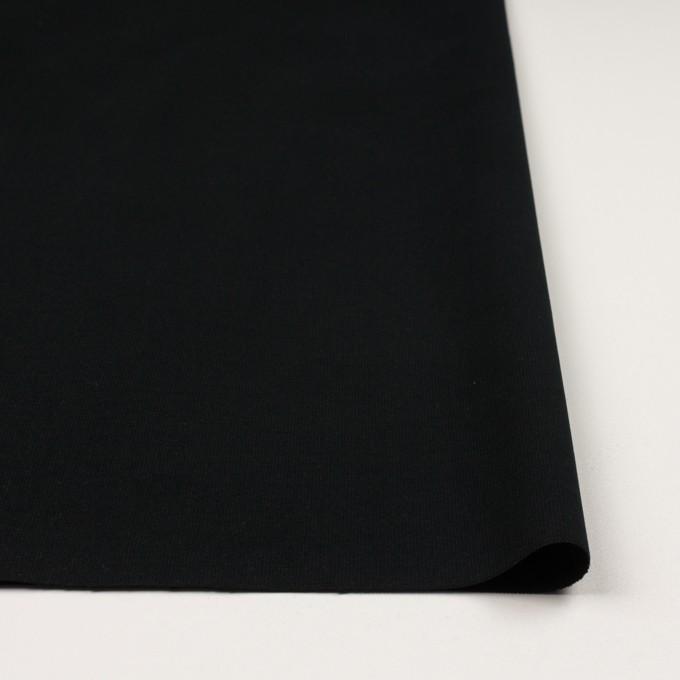コットン&ポリウレタン×無地(ブラック)×コード織_全5色 イメージ3