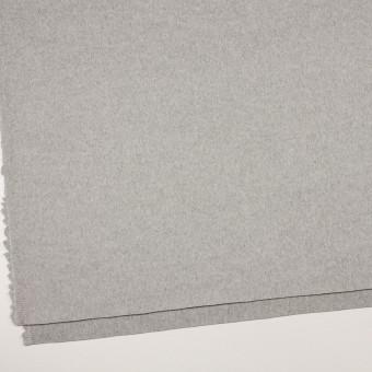 カシミア&ウール×無地(グレー)×ビーバー_イタリア製 サムネイル2