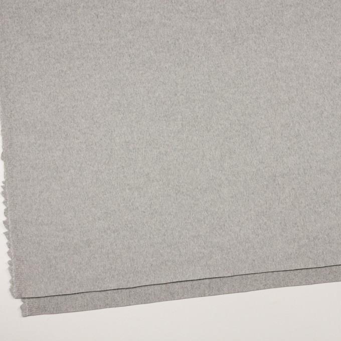 カシミア&ウール×無地(グレー)×ビーバー_イタリア製 イメージ2