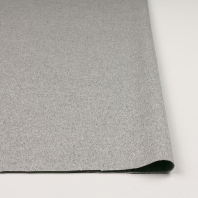 カシミア&ウール×無地(グレー)×ビーバー_イタリア製 イメージ3