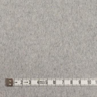 カシミア&ウール×無地(グレー)×ビーバー_イタリア製 サムネイル4