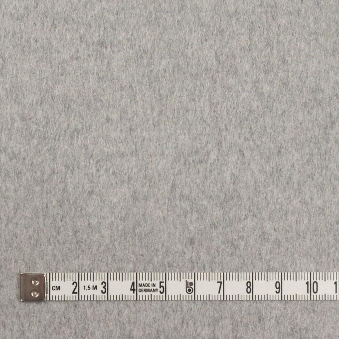 カシミア&ウール×無地(グレー)×ビーバー_イタリア製 イメージ4