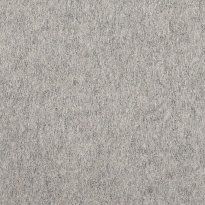 カシミア&ウール×無地(グレー)×ビーバー_イタリア製 イメージ1