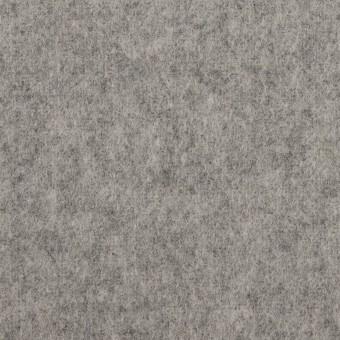 ウール&ポリエステル混×無地(グレー)×フラノ(フランネル) サムネイル1