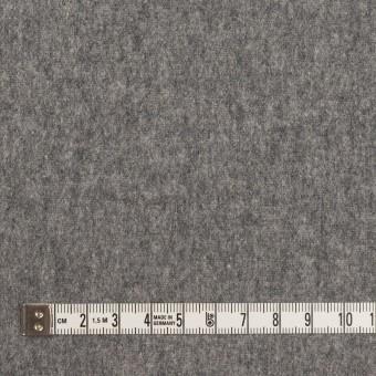 ウール×無地(チャコールグレー)×フラノ(フランネル) サムネイル4