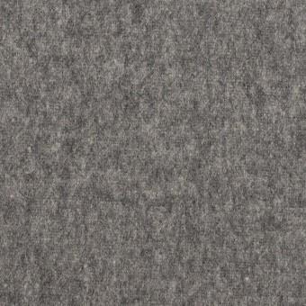 ウール×無地(チャコールグレー)×フラノ(フランネル) サムネイル1