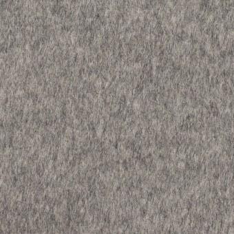 【100cmカット】ウール×無地(グレー&エクリュ)×ビーバー&フラノ(Wフェイス)