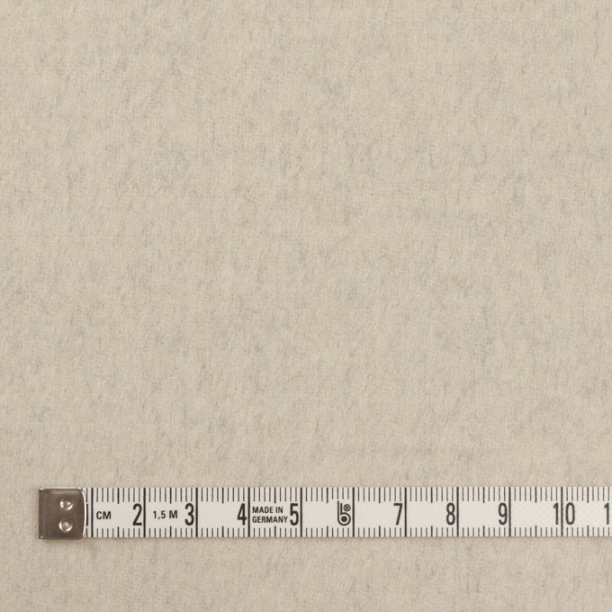 ウール×無地(グレー&エクリュ)×ビーバー&フラノ(Wフェイス) イメージ6