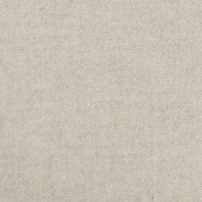 ウール×無地(ストーングレー)×Wフェイス・カルゼ イメージ1