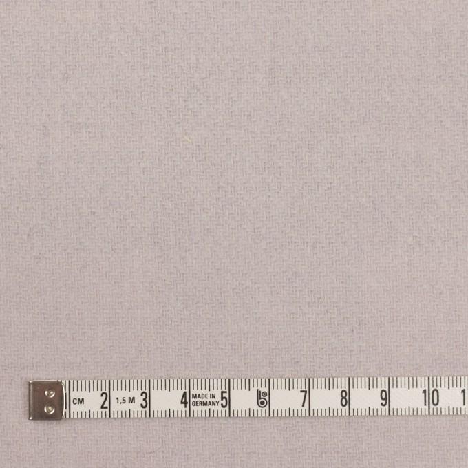ウール&アクリル混×チェック&無地(グレー、エクリュ&モーブ)×Wフェイス・カルゼ イメージ6