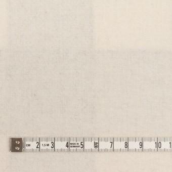 ウール&ナイロン×チェック&無地(ライトベージュ、オイスター&エクリュ)×Wフェイス・カルゼ サムネイル6
