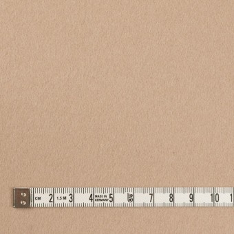 ウール×無地(ベージュ)×フラノ(フランネル) サムネイル4