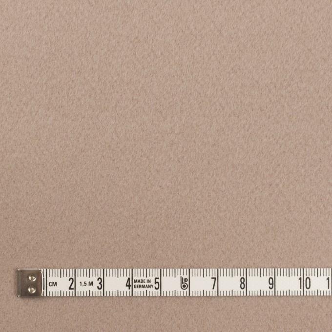 ウール×無地(アッシュベージュ)×Wフェイス・ビーバー イメージ4