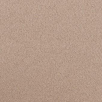 ウール×無地(アッシュベージュ)×Wフェイス・ビーバー サムネイル1